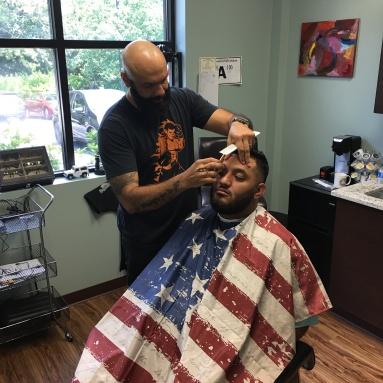 Straight razor work